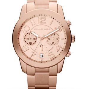 NWT Michael Kors Rose Gold Watch MK5727